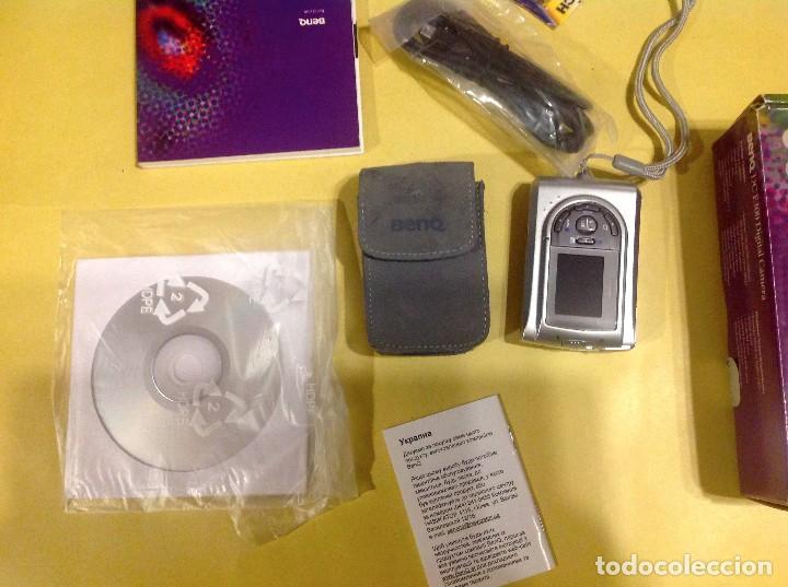 Cámara de fotos: Cámara Digital BENQ DC E300 - Foto 2 - 196576615