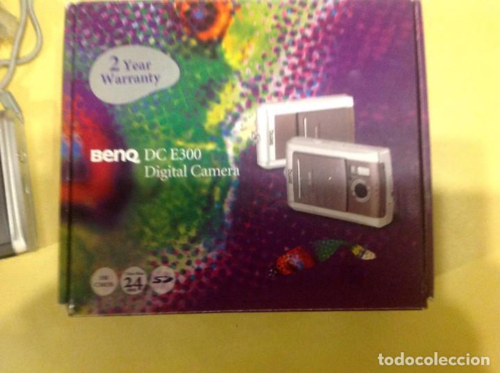 Cámara de fotos: Cámara Digital BENQ DC E300 - Foto 8 - 196576615