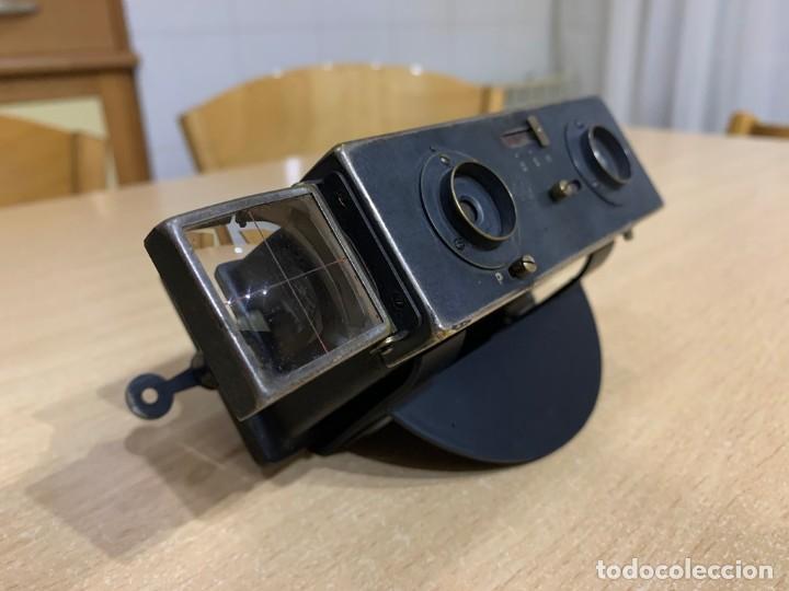 LE GLYPHOSCOPE, J.RICHARD CAMARA CON VISOR ESTEREOSCOPICA (Cámaras Fotográficas - Visores Estereoscópicos)