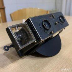 Cámara de fotos: LE GLYPHOSCOPE, J.RICHARD CAMARA CON VISOR ESTEREOSCOPICA . Lote 196953337