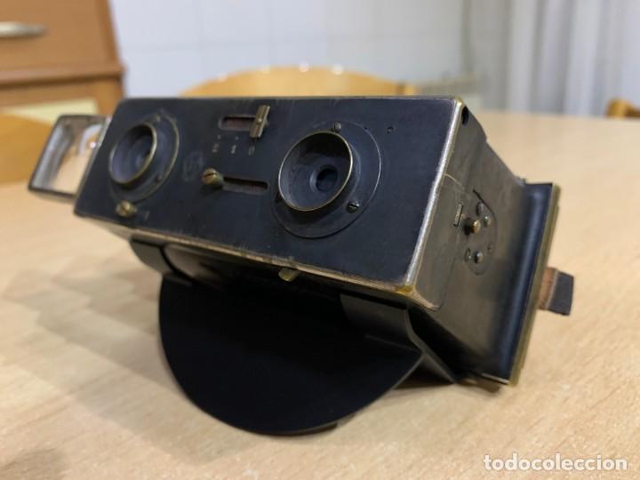 Cámara de fotos: LE GLYPHOSCOPE, J.RICHARD CAMARA CON VISOR ESTEREOSCOPICA - Foto 3 - 196953337