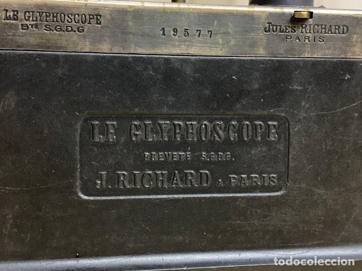 Cámara de fotos: LE GLYPHOSCOPE, J.RICHARD CAMARA CON VISOR ESTEREOSCOPICA - Foto 6 - 196953337