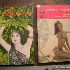 Cámara de fotos: DOS MANUALES DE LOS AÑOS SESENTA SOBRE DESNUDOS Y GLAMOUR. Lote 196953545