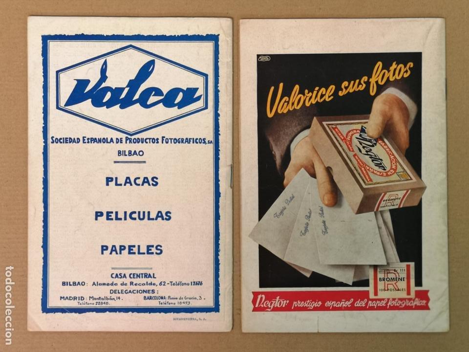 Cámara de fotos: SILUETAS REVISTA OFICIAL DE LA REAL SOCIEDAD FOTOGRÁFICA ESPAÑOLA 1944 - Foto 2 - 197194470