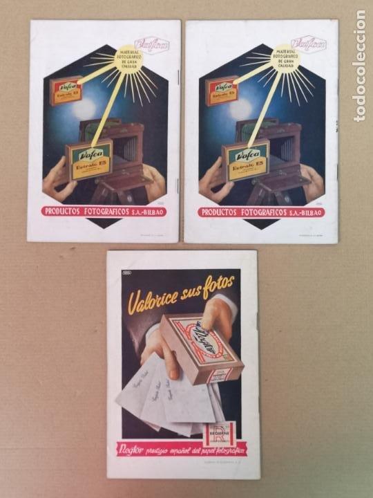 Cámara de fotos: SILUETAS REVISTA OFICIAL DE LA REAL SOCIEDAD FOTOGRÁFICA ESPAÑOLA 1944 - Foto 6 - 197194470