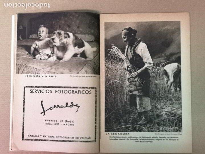 Cámara de fotos: SILUETAS REVISTA OFICIAL DE LA REAL SOCIEDAD FOTOGRÁFICA ESPAÑOLA 1944 - Foto 9 - 197194470