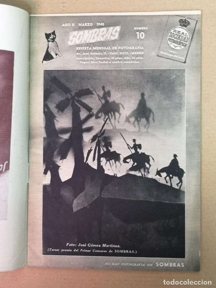 Cámara de fotos: SILUETAS REVISTA OFICIAL DE LA REAL SOCIEDAD FOTOGRÁFICA ESPAÑOLA 1944 - Foto 11 - 197194470