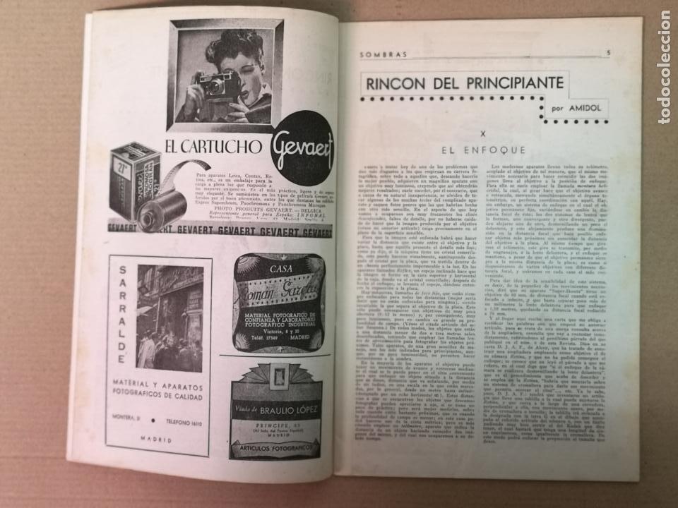 Cámara de fotos: SILUETAS REVISTA OFICIAL DE LA REAL SOCIEDAD FOTOGRÁFICA ESPAÑOLA 1944 - Foto 12 - 197194470