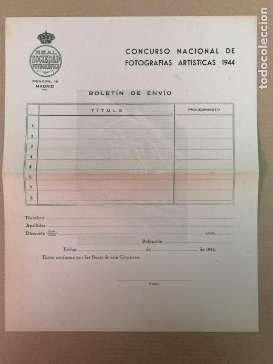 Cámara de fotos: SILUETAS REVISTA OFICIAL DE LA REAL SOCIEDAD FOTOGRÁFICA ESPAÑOLA 1944 - Foto 13 - 197194470