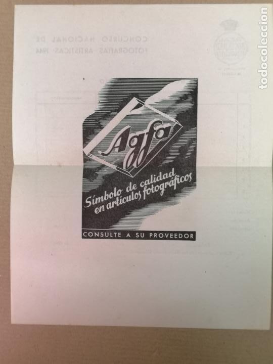 Cámara de fotos: SILUETAS REVISTA OFICIAL DE LA REAL SOCIEDAD FOTOGRÁFICA ESPAÑOLA 1944 - Foto 14 - 197194470