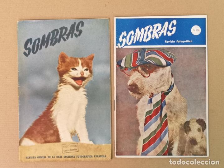 SILUETAS REVISTA OFICIAL DE LA REAL SOCIEDAD FOTOGRÁFICA ESPAÑOLA 1944 (Cámaras Fotográficas - Catálogos, Manuales y Publicidad)