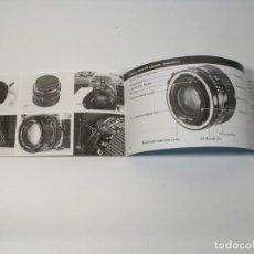Cámara de fotos: OBJETIVO CANON FD INSTRUCCIONES. Lote 197251150