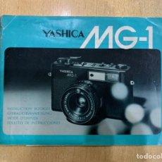 Cámara de fotos: MANUAL DE INSTRUCCIONES YASHICA MG 1. Lote 197609546