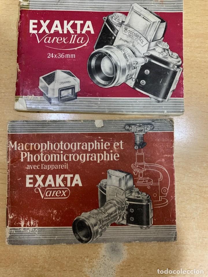 MANUALES INSTRUCCIONES EXAKTA VARES (Cámaras Fotográficas - Catálogos, Manuales y Publicidad)