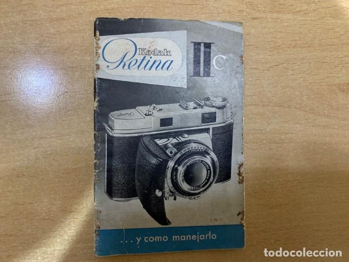 MANUAL DE INSTRUCCIONES KODAK RETINA II C (Cámaras Fotográficas - Catálogos, Manuales y Publicidad)