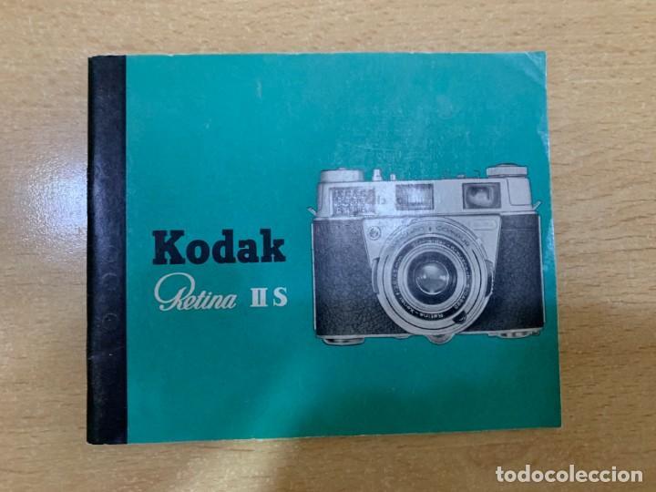 MANUAL DE INSTRUCCIONES KODAK RETINA II S (Cámaras Fotográficas - Catálogos, Manuales y Publicidad)