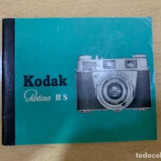 Cámara de fotos: MANUAL DE INSTRUCCIONES KODAK RETINA II S. Lote 197618613