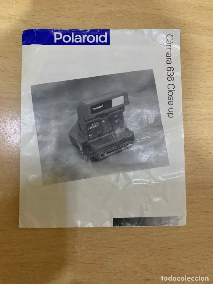 MANUAL DE INSTRUCCIONES POLAROID 636 (Cámaras Fotográficas - Catálogos, Manuales y Publicidad)
