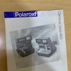 Cámara de fotos: MANUAL DE INSTRUCCIONES POLAROID 636. Lote 197621951