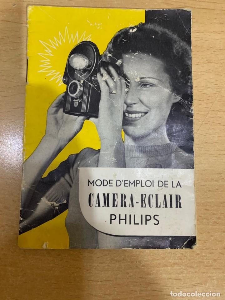 MANUAL DE INSTRUCCIONES CAMERA ECLAIR (Cámaras Fotográficas - Catálogos, Manuales y Publicidad)