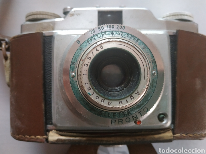 Cámara de fotos: Cámara fotográfica Agfa Pronto con funda original - Foto 2 - 197827798