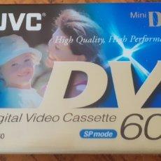 Cámara de fotos: JVC MINI - DV DIGITAL VIDEO CASSETTE 60 MINUTOS. Lote 198138065