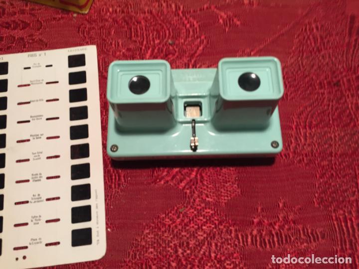 Cámara de fotos: Antiguo Stereoscope Lestrade en caja original con vistas años 70 - Foto 7 - 198370807