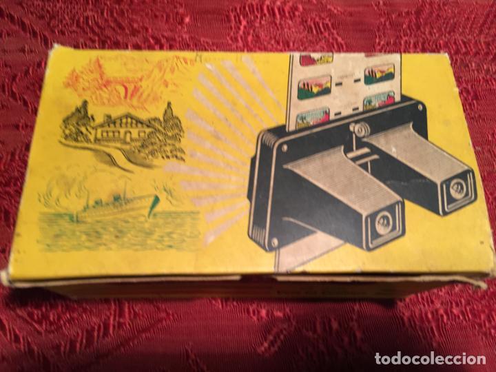Cámara de fotos: Antiguo Stereoscope Lestrade en caja original con vistas años 70 - Foto 8 - 198370807