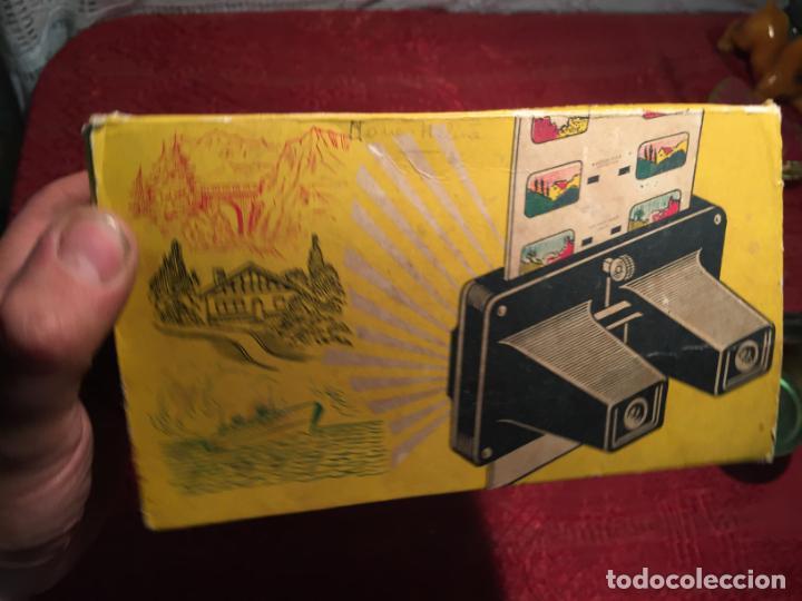 Cámara de fotos: Antiguo Stereoscope Lestrade en caja original con vistas años 70 - Foto 10 - 198370807