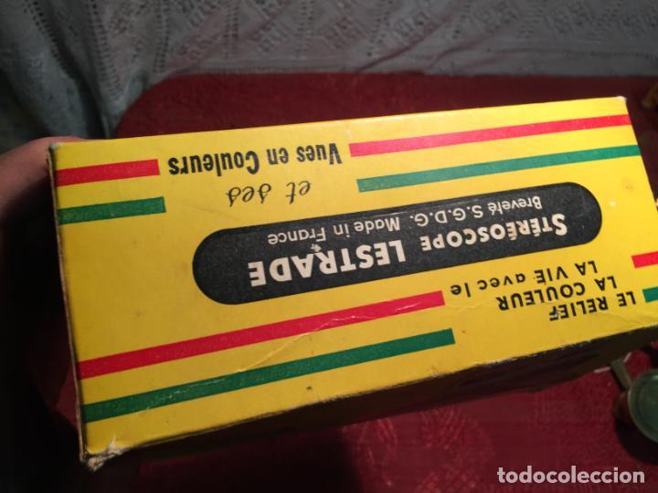 Cámara de fotos: Antiguo Stereoscope Lestrade en caja original con vistas años 70 - Foto 11 - 198370807
