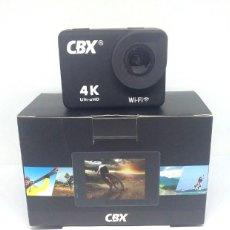 Cámara de fotos: SPORTS CAM CAMARA DE ACCION 4K CBX WI-FI ULTRAND AG-3. Lote 198793865