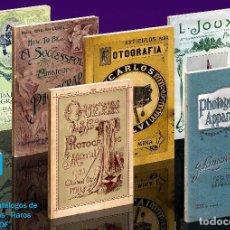 Cámara de fotos: 6 CATÁLOGOS RAROS. CÁMARAS ANTIGUAS. CD.FORMATO PDF. Lote 198958531