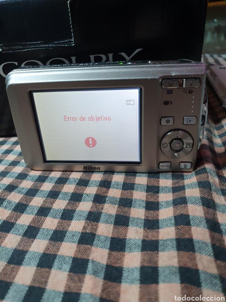 Cámara de fotos: Cámara, digital, Nikon, md. Coolpix s520, con mensaje de error del objetivo, con su caja original. - Foto 2 - 199403101