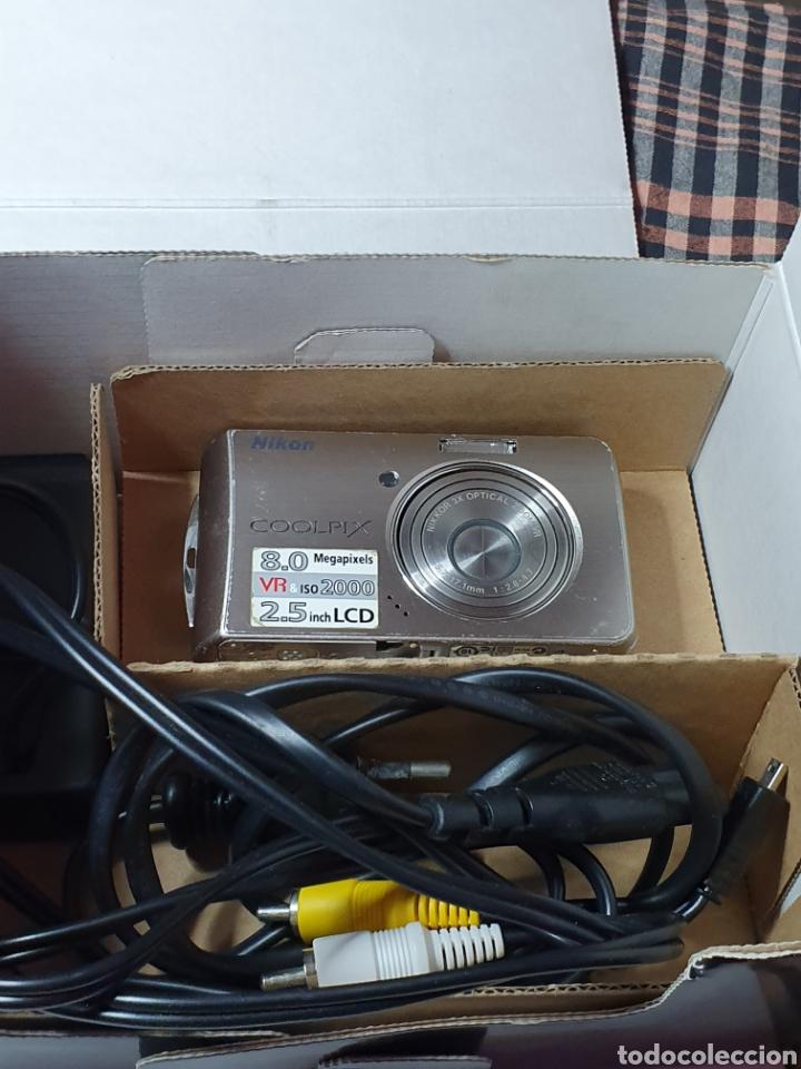 Cámara de fotos: Cámara, digital, Nikon, md. Coolpix s520, con mensaje de error del objetivo, con su caja original. - Foto 5 - 199403101