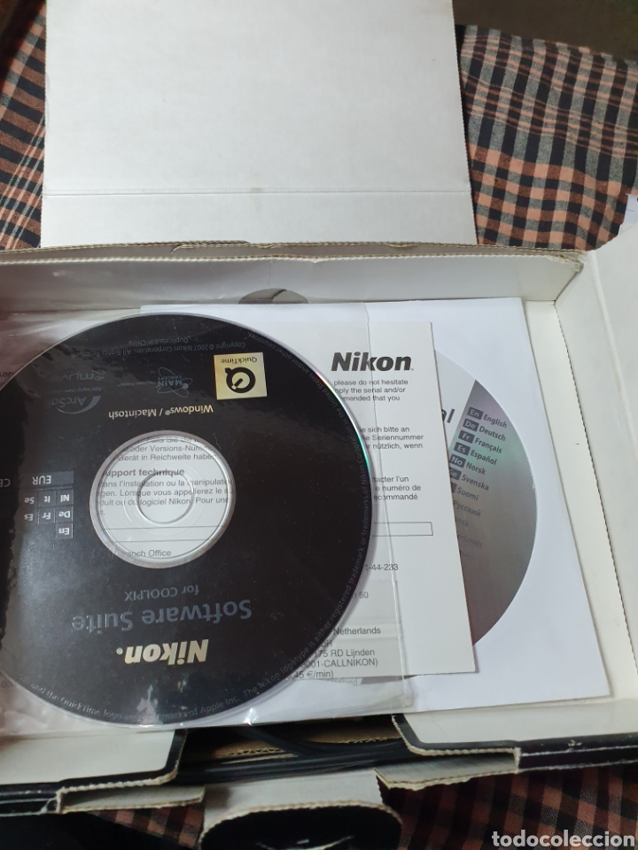 Cámara de fotos: Cámara, digital, Nikon, md. Coolpix s520, con mensaje de error del objetivo, con su caja original. - Foto 7 - 199403101