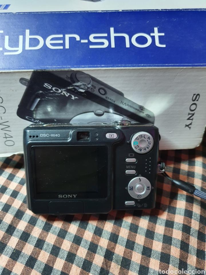 Cámara de fotos: Camara digital, Sony, cyber-shot, DC -- w40, no enciende, con su caja original - Foto 2 - 199409713