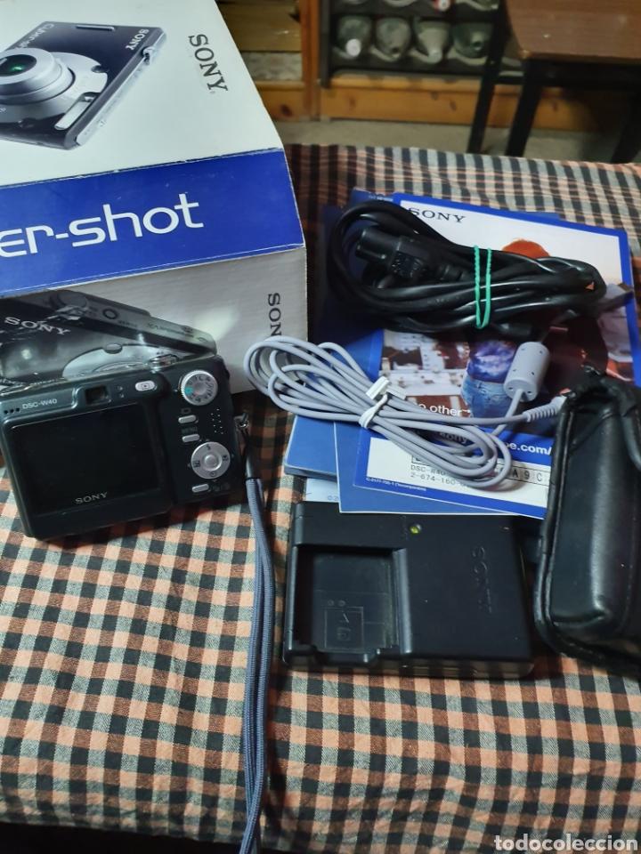 Cámara de fotos: Camara digital, Sony, cyber-shot, DC -- w40, no enciende, con su caja original - Foto 3 - 199409713