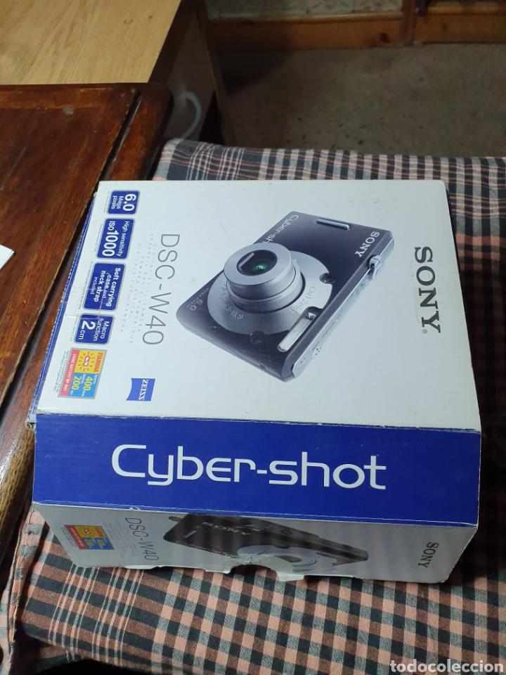 Cámara de fotos: Camara digital, Sony, cyber-shot, DC -- w40, no enciende, con su caja original - Foto 4 - 199409713