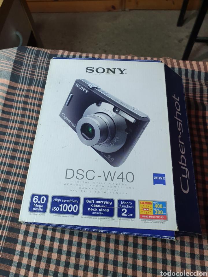 Cámara de fotos: Camara digital, Sony, cyber-shot, DC -- w40, no enciende, con su caja original - Foto 5 - 199409713