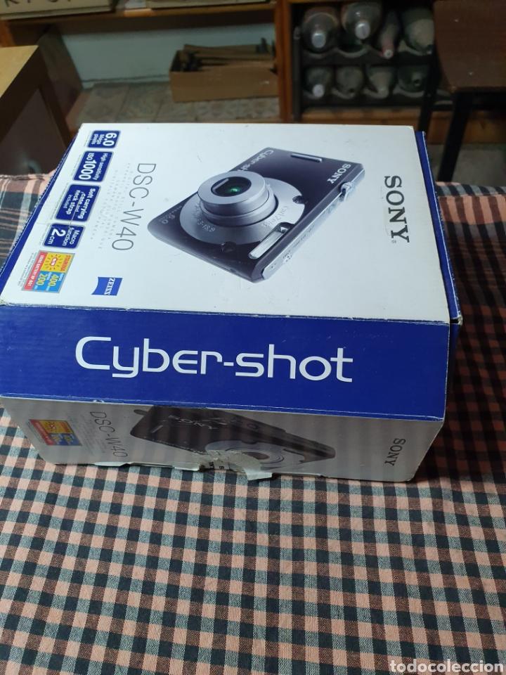 Cámara de fotos: Camara digital, Sony, cyber-shot, DC -- w40, no enciende, con su caja original - Foto 7 - 199409713