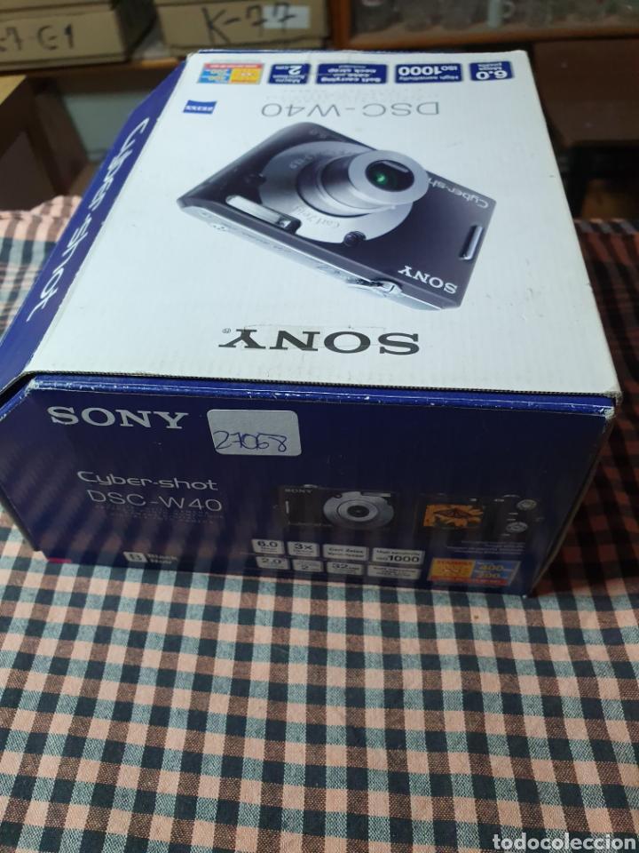 Cámara de fotos: Camara digital, Sony, cyber-shot, DC -- w40, no enciende, con su caja original - Foto 8 - 199409713