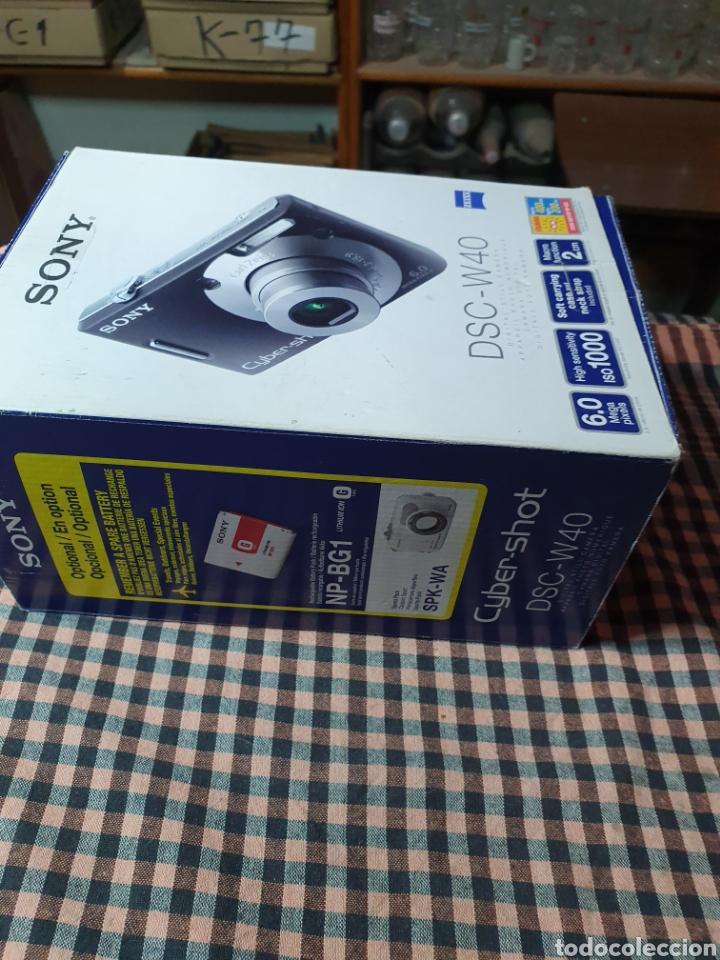 Cámara de fotos: Camara digital, Sony, cyber-shot, DC -- w40, no enciende, con su caja original - Foto 9 - 199409713