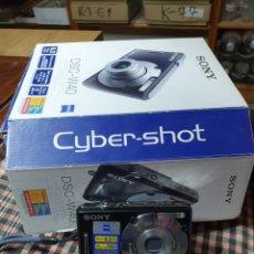 Cámara de fotos: CAMARA DIGITAL, SONY, CYBER-SHOT, DC -- W40, NO ENCIENDE, CON SU CAJA ORIGINAL. Lote 199409713