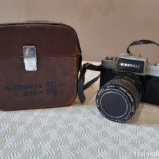 Cámara de fotos: CAMARA FOTOGRAFICA NIKON NIKKOREX ZOOM35. FUNDA ORIGINAL.. Lote 199640360