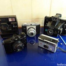 Cámara de fotos: LOTE DE 5 CÁMARAS ANTIGUAS SIN PROBAR. Lote 199703853