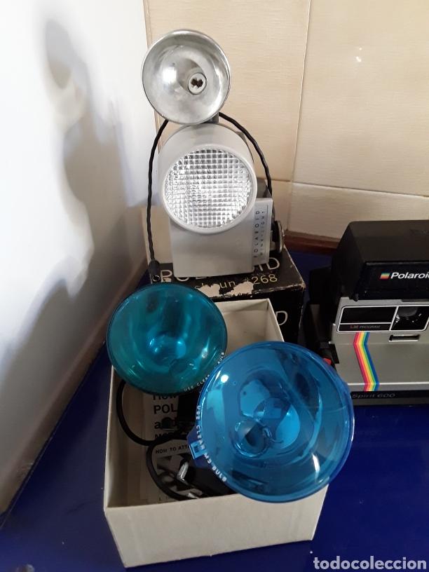 Cámara de fotos: Lote de cámaras polaroid y flash sin probar - Foto 2 - 199751090