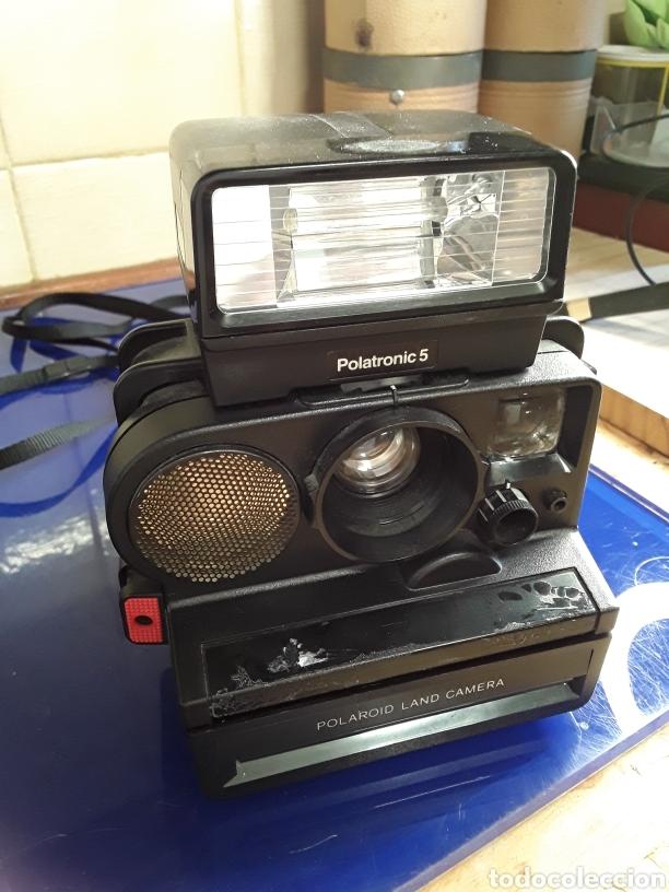 Cámara de fotos: Lote de cámaras polaroid y flash sin probar - Foto 4 - 199751090