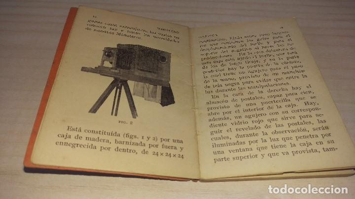 Cámara de fotos: Manual del minutero, Garriga, Barcelona 1926 - Foto 4 - 199931478