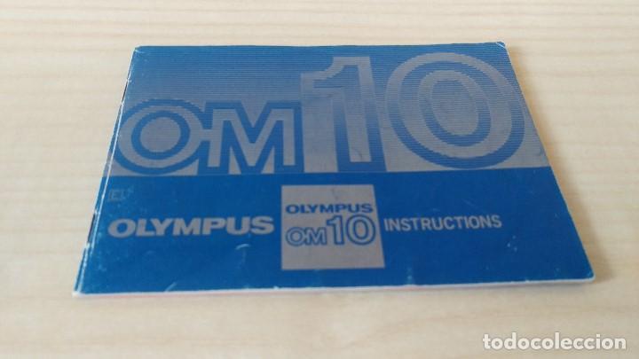 MANUAL OLYMPUS OM-10 ORIGINAL (Cámaras Fotográficas - Catálogos, Manuales y Publicidad)