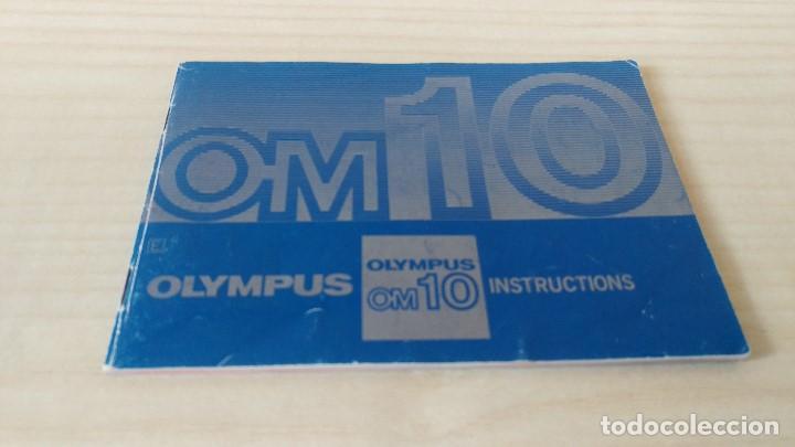 Cámara de fotos: Manual Olympus OM-10 original - Foto 2 - 199931563